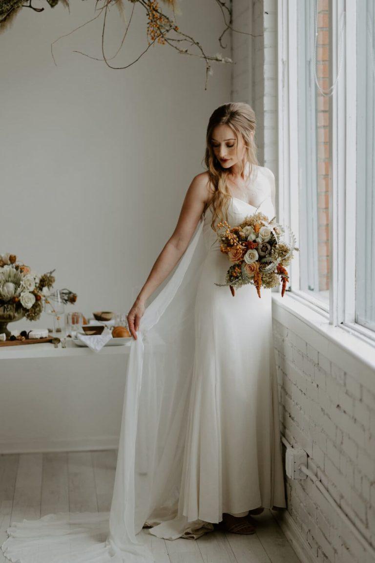 Bridal Session at The Lumen Room in Dallas, Texas