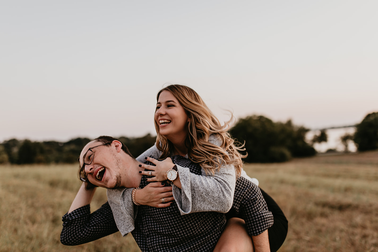White Rock Lake engagement session in Dallas Texas