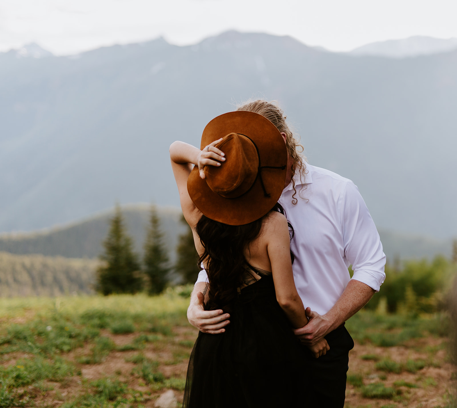 Adventure styled elopement in Aspen, Colorado at The Little Nell