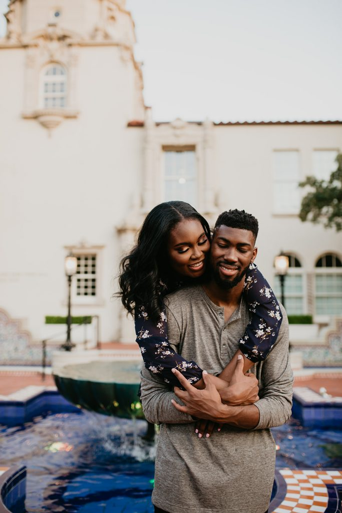 Highland Park, Dallas Texas Couples Session